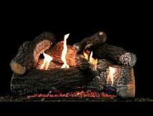 White Mountain Hearth - Harmony Burner with Super Wildwood Log Set